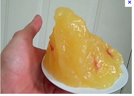 How big is one pound of FAT?