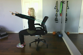 Exercise Band & Chair